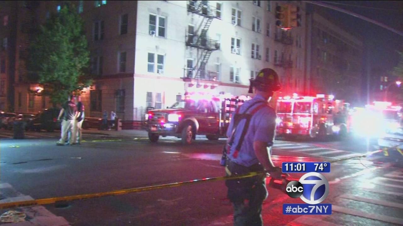 2 buildings evacuated due to CO concerns, manhole fire in Washington Heights