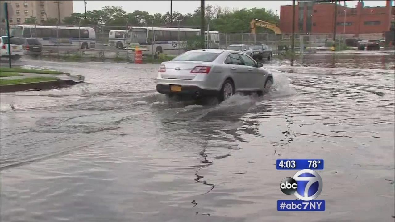 Flooding across the tri-state area