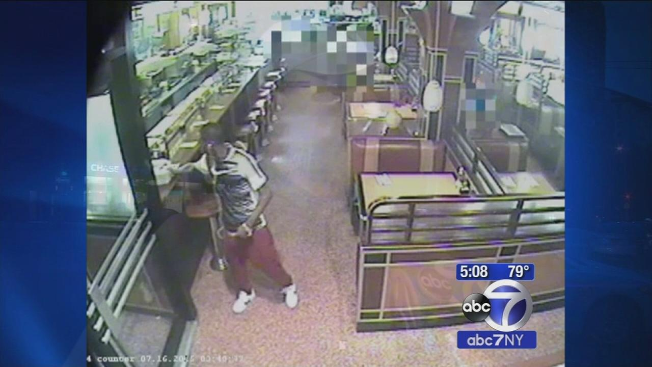 Video surveillance shows suspect before UWS diner shooting
