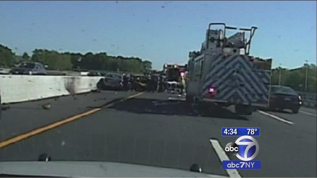 Dashcam video shows taxi crash scene where John Nash was killed
