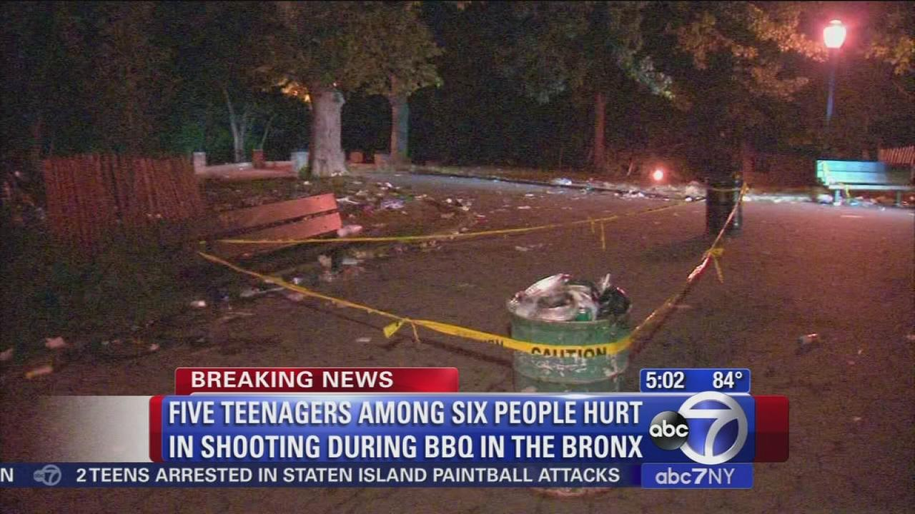 Bronx shooting leaves 6 wounded