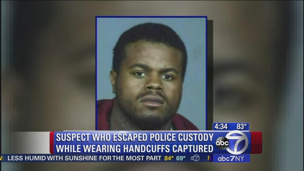 Police catch escapee in Harlem