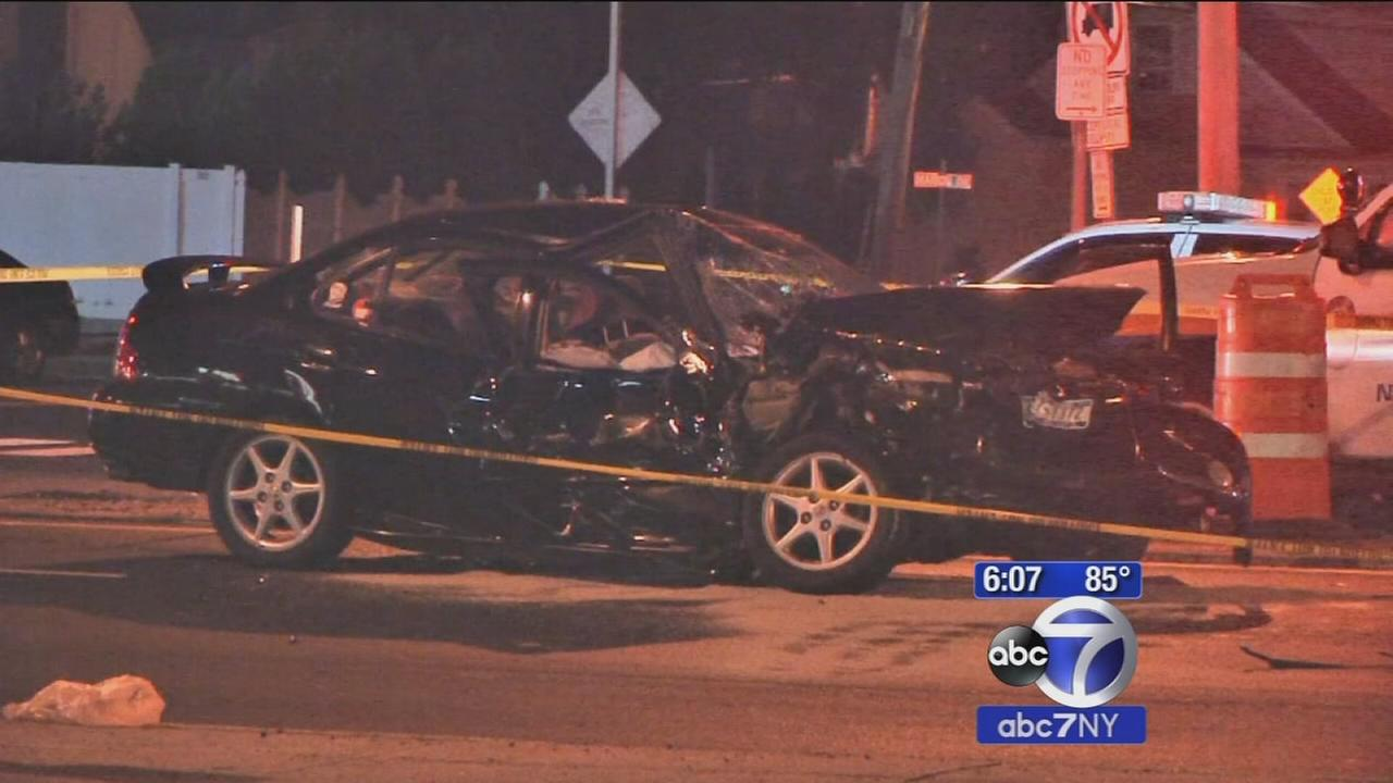 1 dead after man fleeing police crashes in East Meadow; driver charged with manslaughter