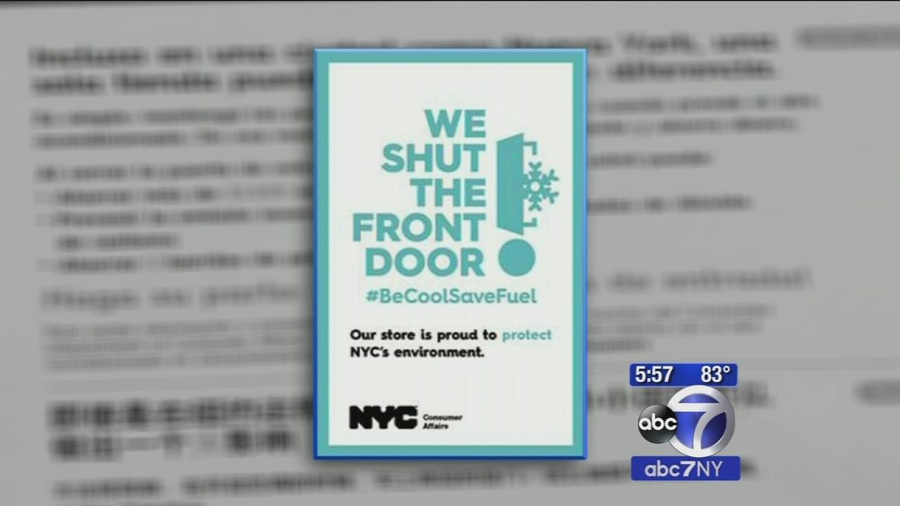 Shut the Front Door campaign calls on businesses to keep the AC inside
