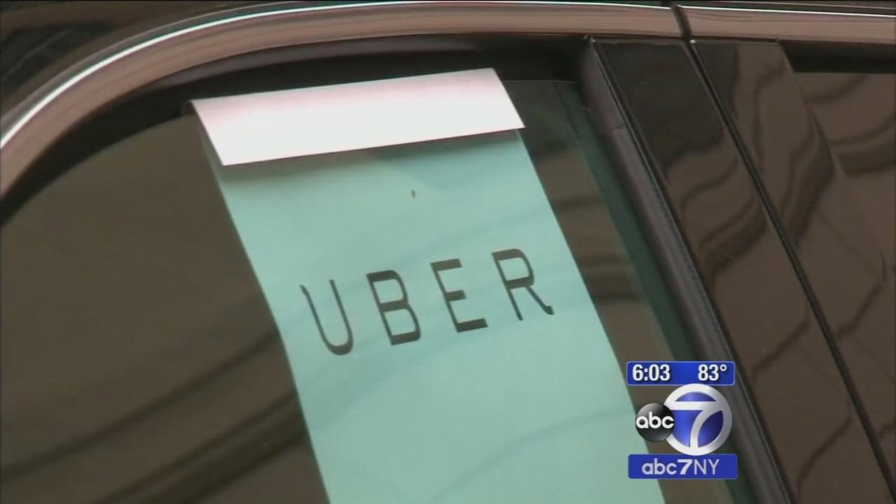 Taxi drivers protest halt of Uber cap in NYC; Cuomo says service will go state-wide
