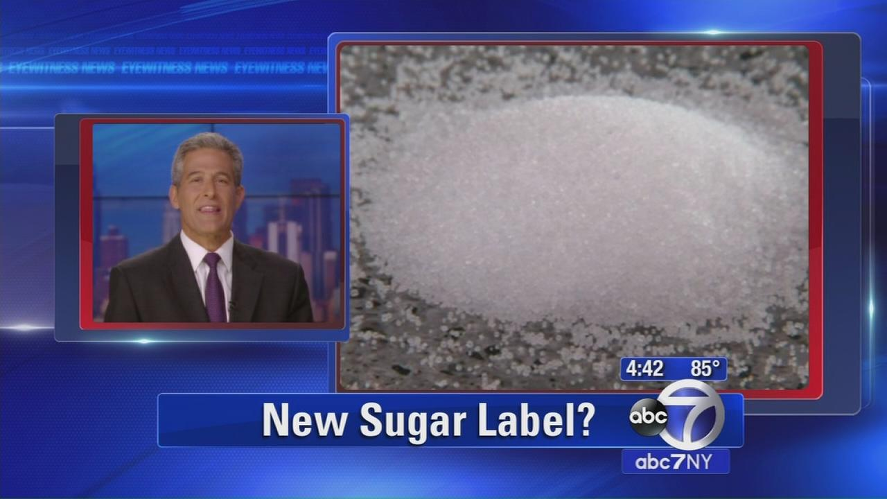 Proposed label would tell you how much added sugar to eat