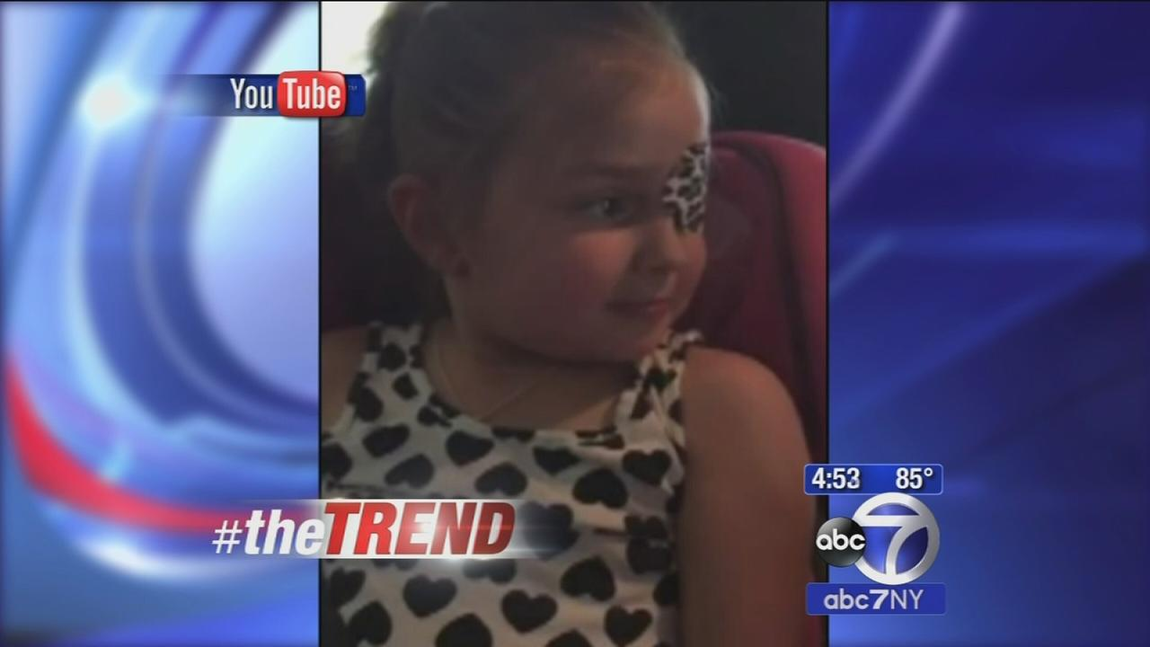 The Trend: Kristen Bell makes little girl with cancers day