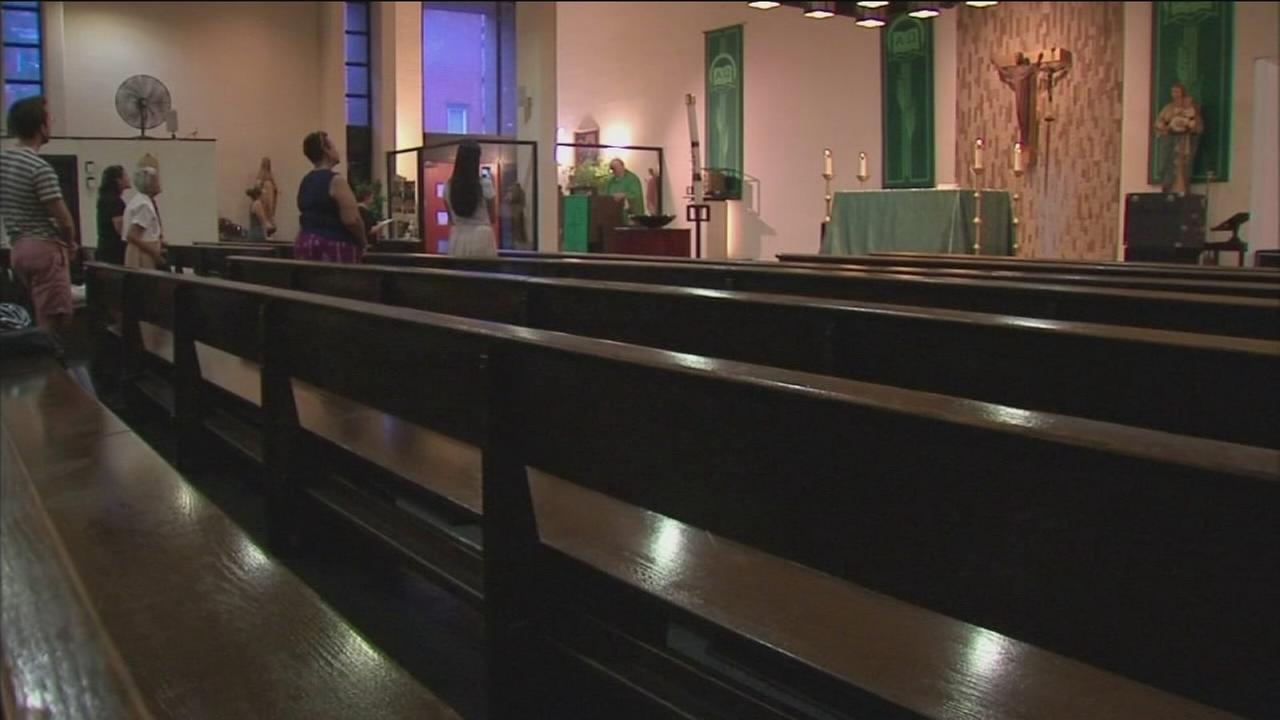East Village church holds final evening mass before closing