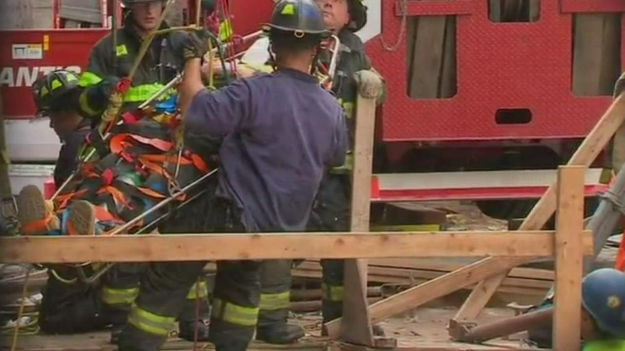 Worker rescued after 2nd Avenue subway construction accident