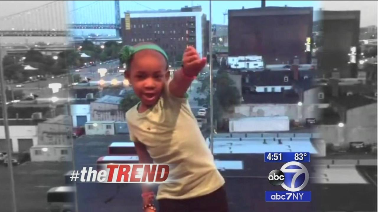 The Trend: Leah Still challenges Riley Curry to a dance off