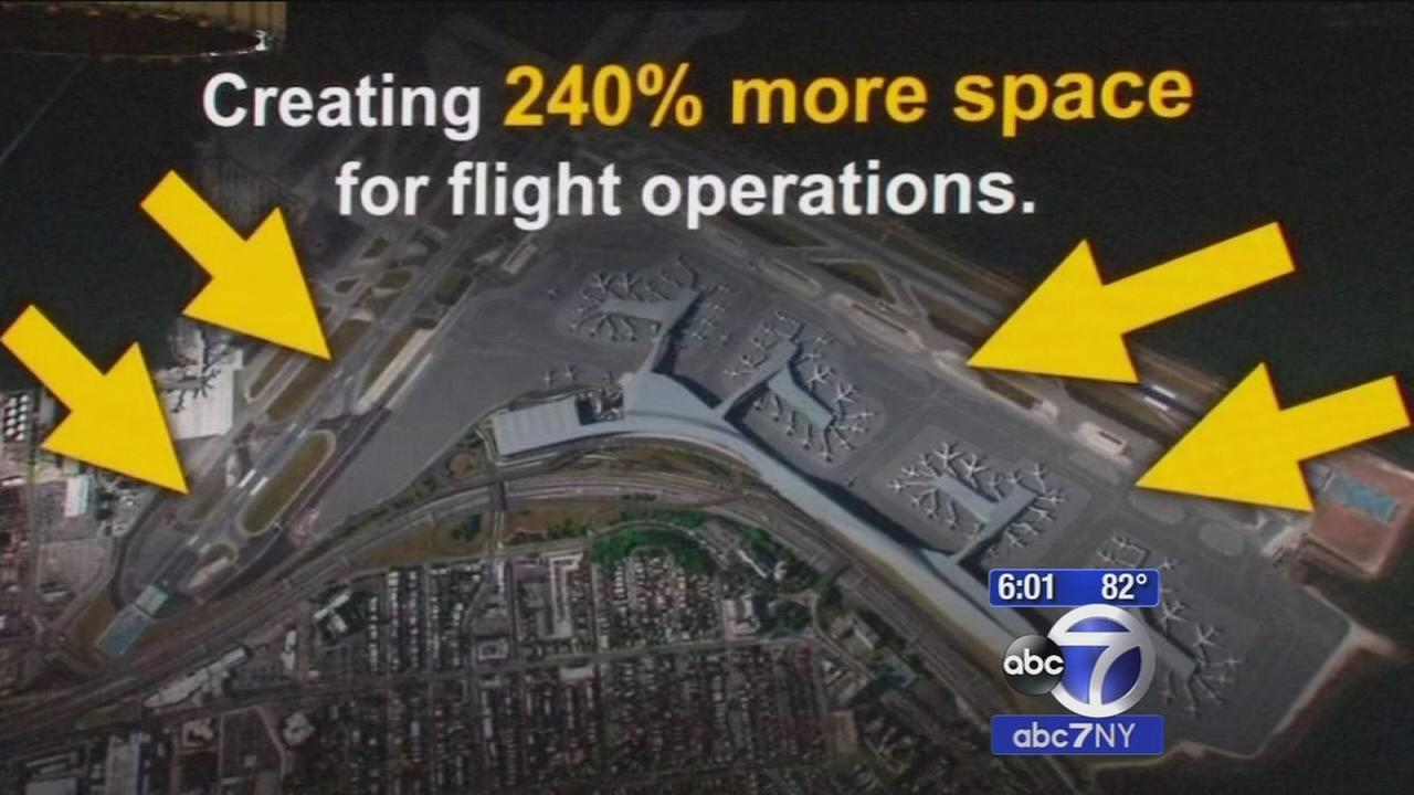 LaGuardia Airport to be rebuilt, size doubled