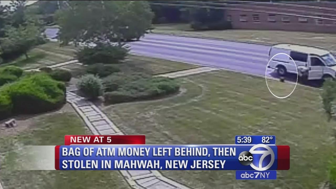 ATM employees leave $150,000 cash on lawn; police seek person who took it
