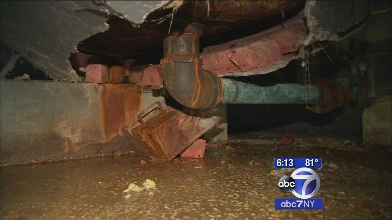 Wagner Houses tenant claims raw sewage destroying apartment