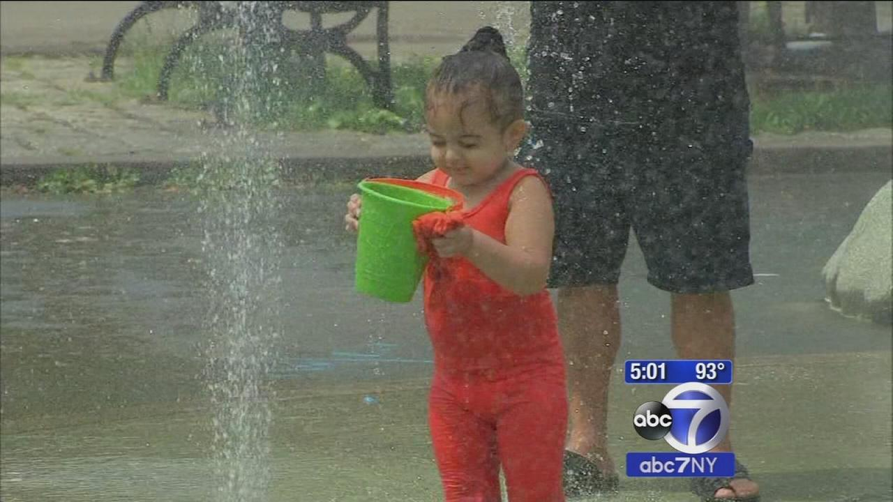 How New Yorkers are dealing with the extreme heat