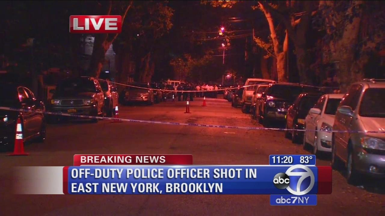 Off-duty officer shot in Brooklyn