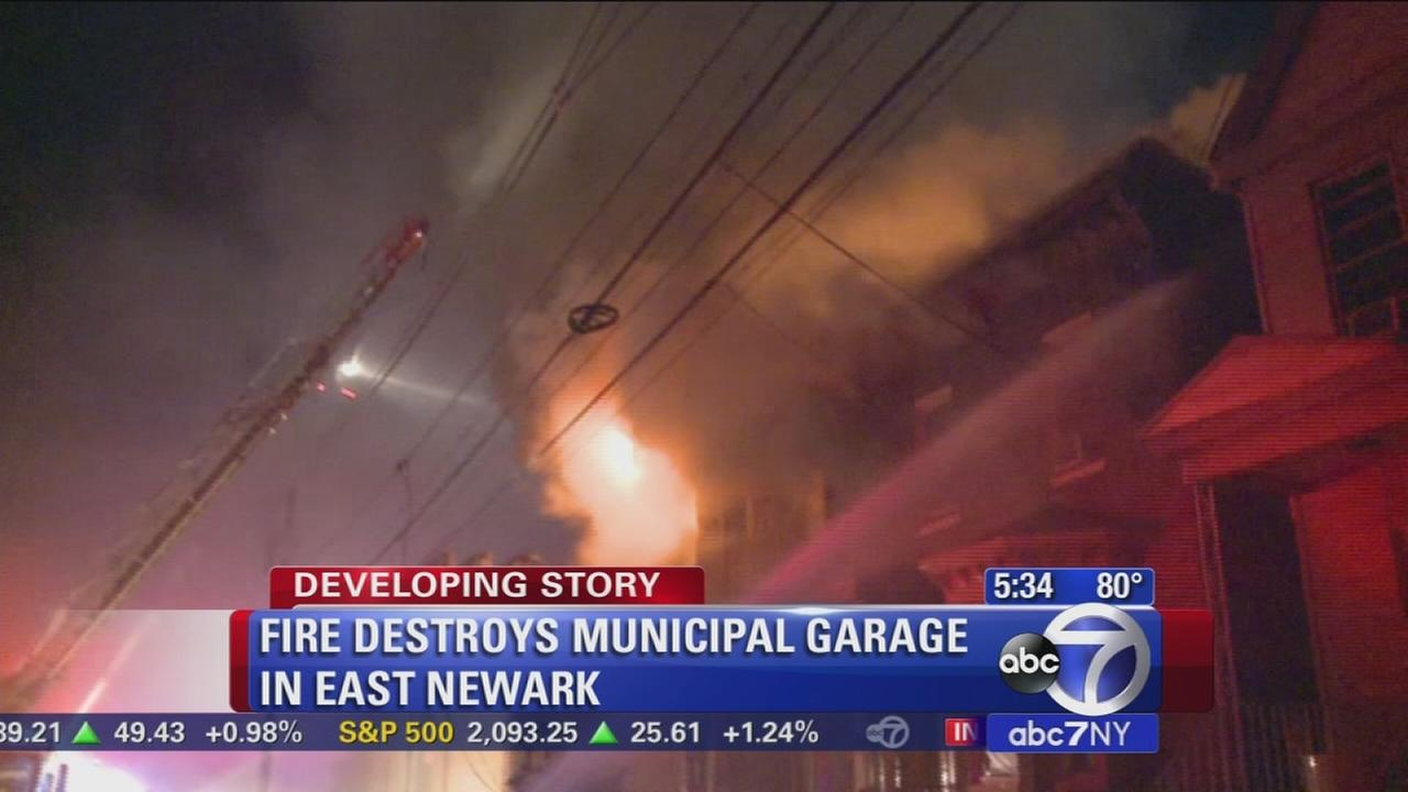 Home, garage destroyed in East Newark fire