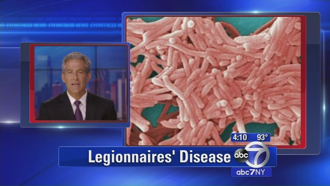 Outbreak of Legionnaries disease