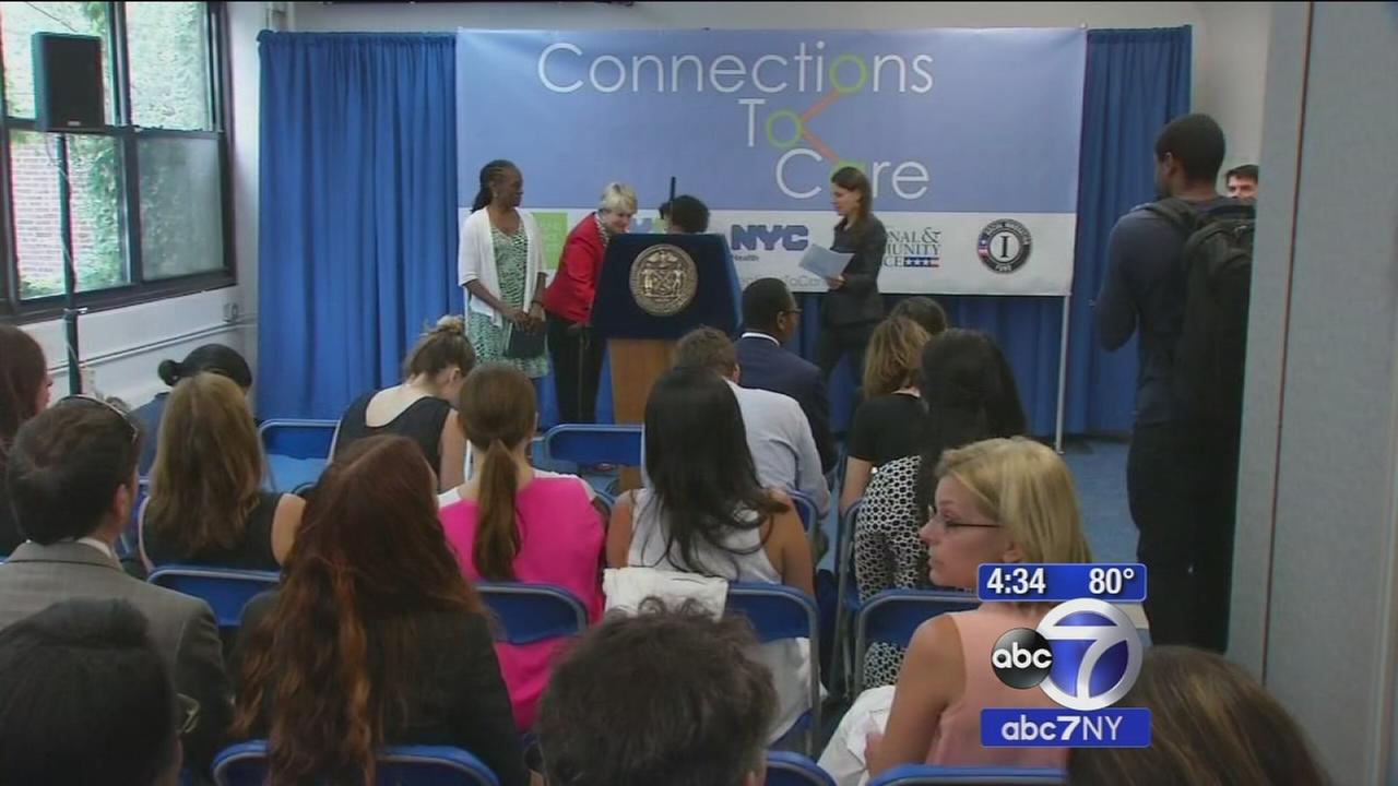 Mayor Bill de Blasio announces iniative to overhaul New York Citys mental health system
