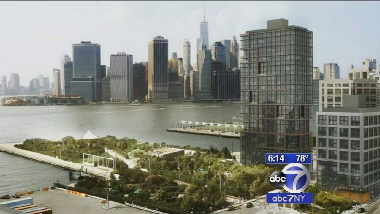 Battle rages in Brooklyn over plan to build 2 apartment towers on popular park