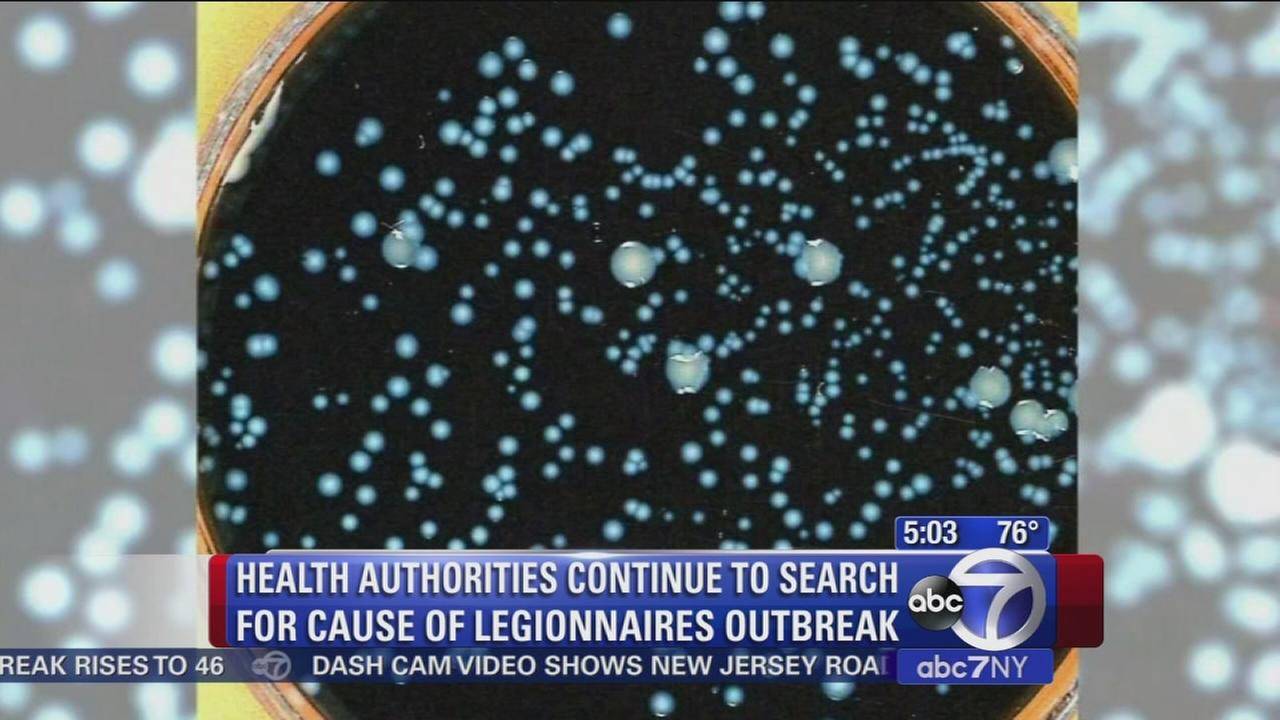 Officials work to find source of Legionnaires