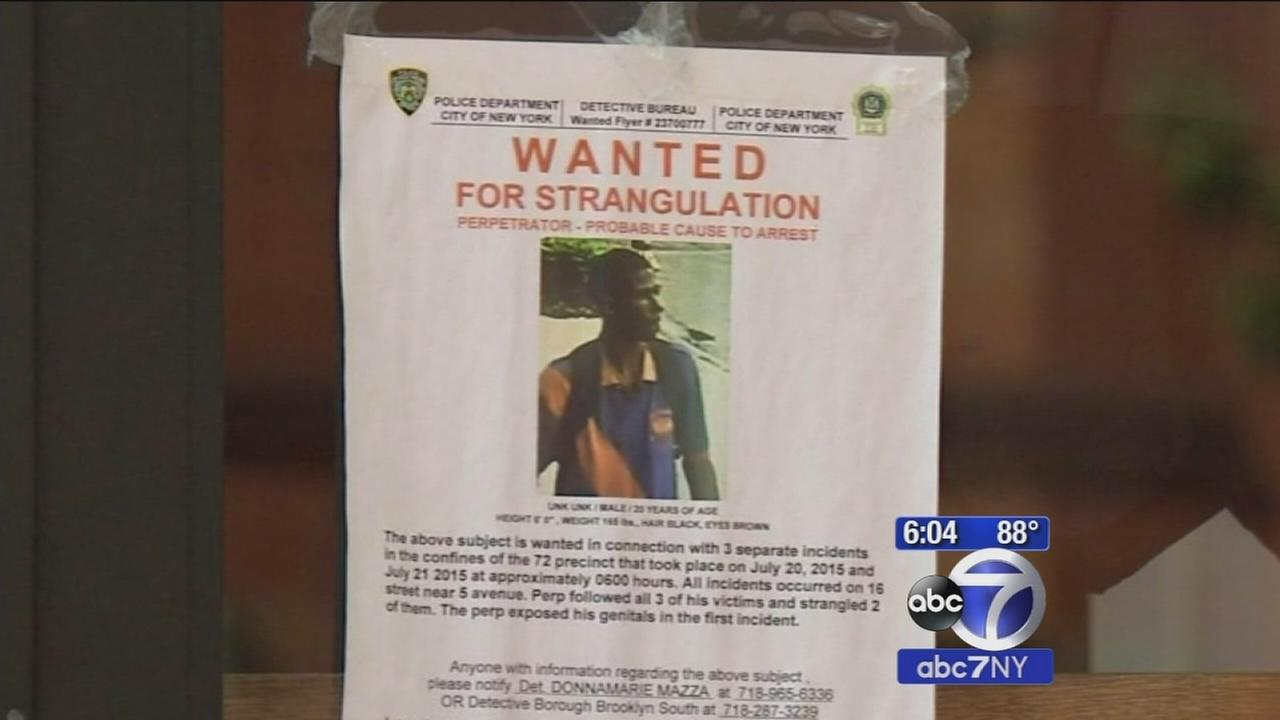Police in Brooklyn searching for man who choked, exposed himself to women