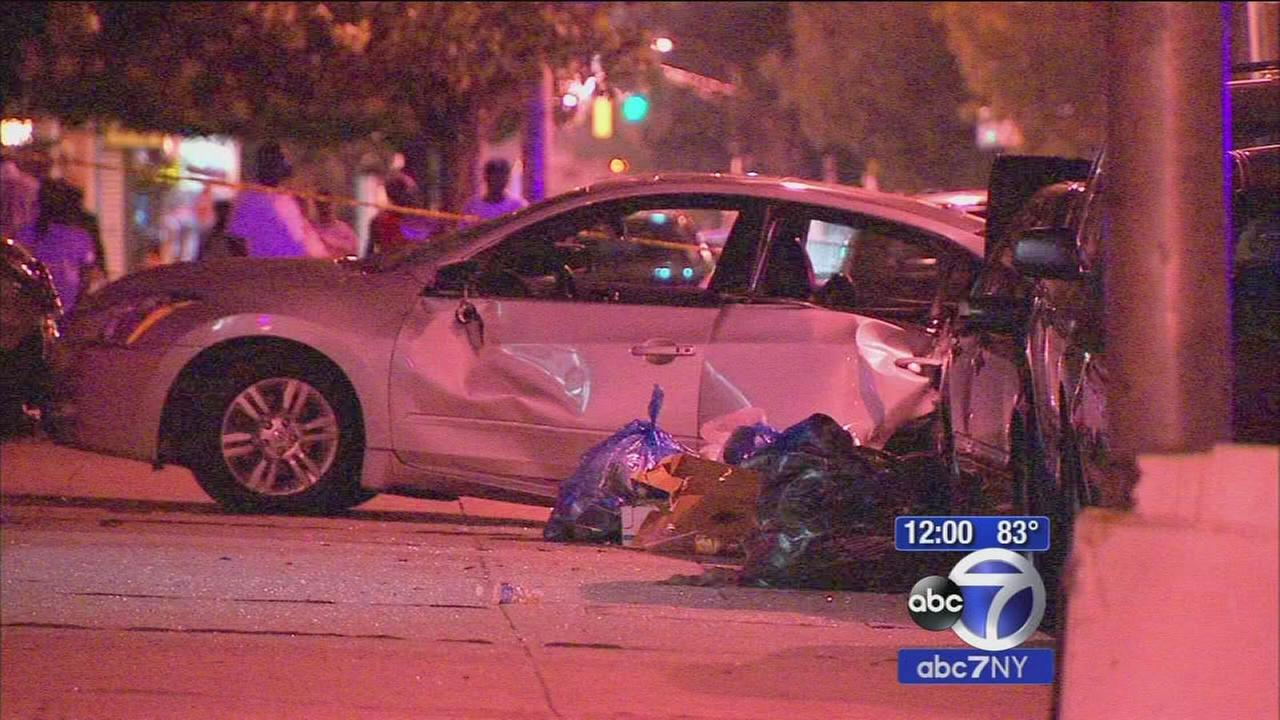 30-year-old driver charged with DWI, assault after chain-reaction accident in Jersey City