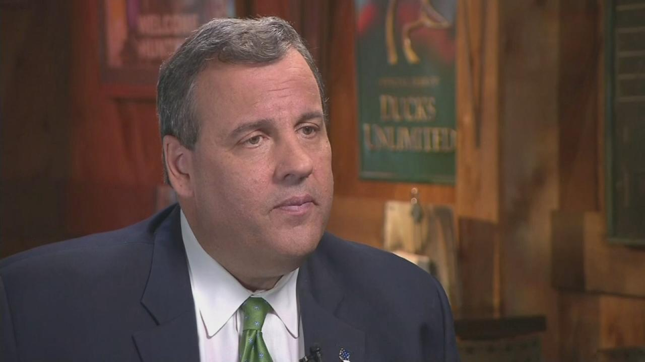 Raw: Chris Christie talks about teachers unions