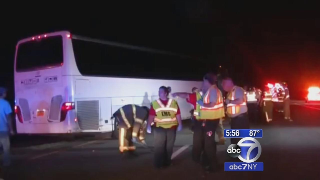 Bus driver from NYC charged in fatal North Carolina crash