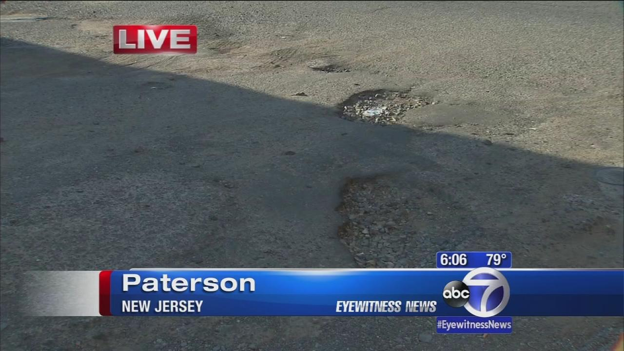 Residents have had it with Paterson potholes