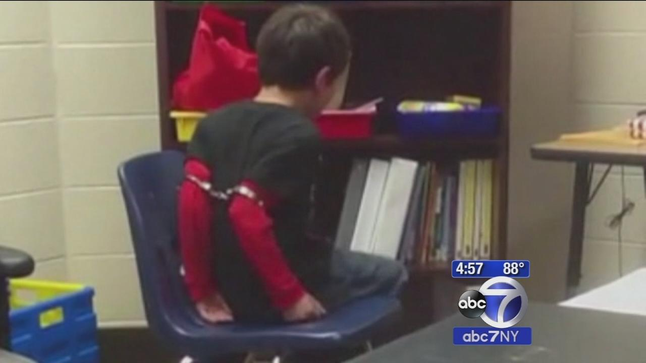 Officer sued for handcuffing kids with ADHD at Kentucky school