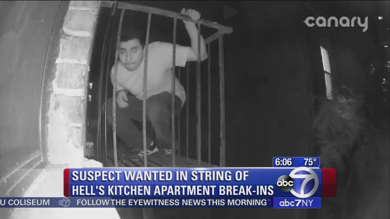 Man wanted for breakuing into at least 6 apartments