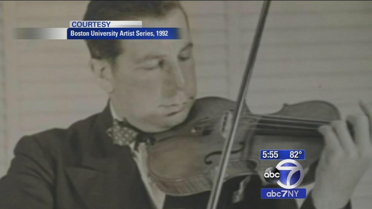 Stolen violin found 35 years later reunited with owners family in New York City
