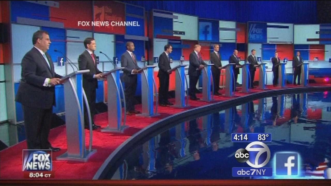 Winners and losers at the GOP debate