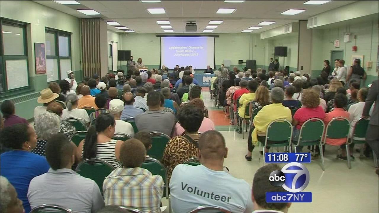Town hall meeting over Legionnaires Disease