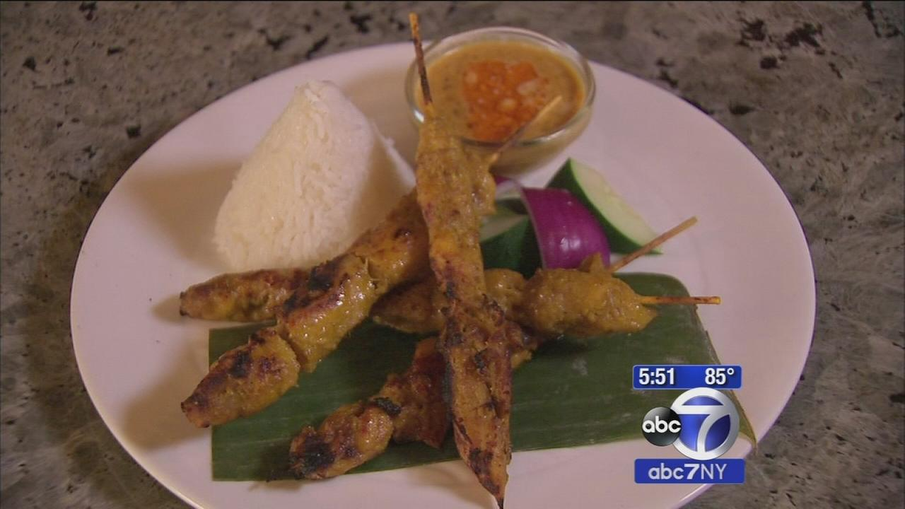 Eats: Satay chicken at Aux Epices