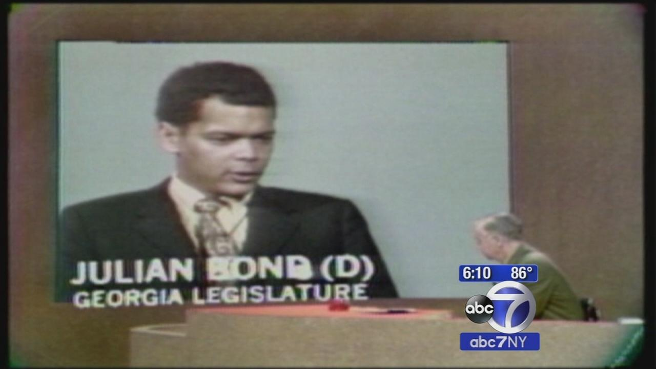 Longtime Civil Rights Activist Julian Bond dies at 75