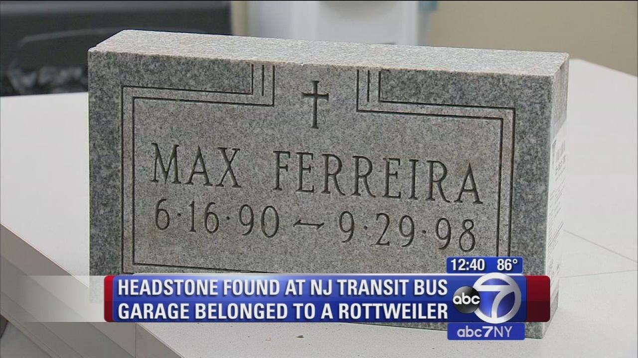 headstone found