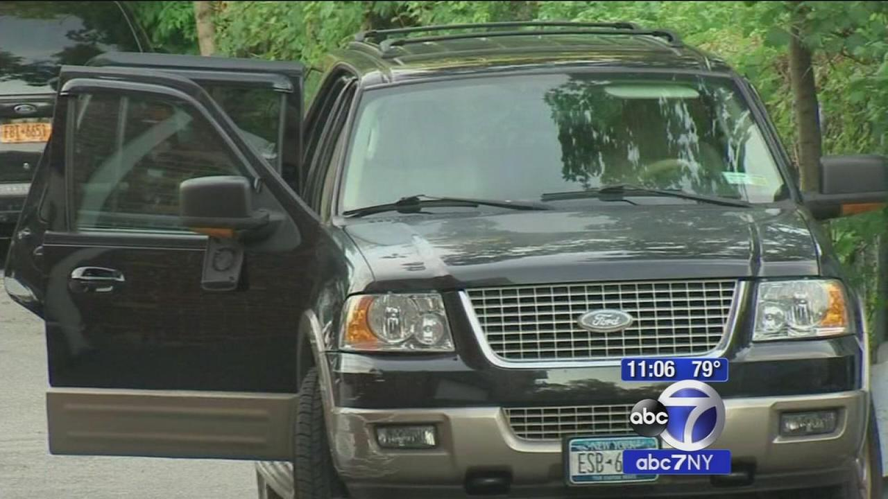Girl killed and boy injured in freak SUV accident in New Rochelle