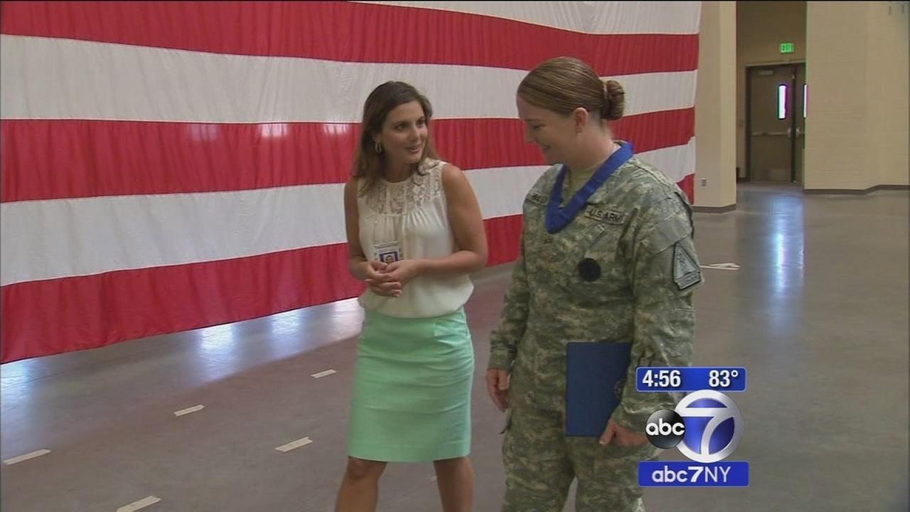 National Guard solider receives Medal of Valor, New Yorks highest military honor
