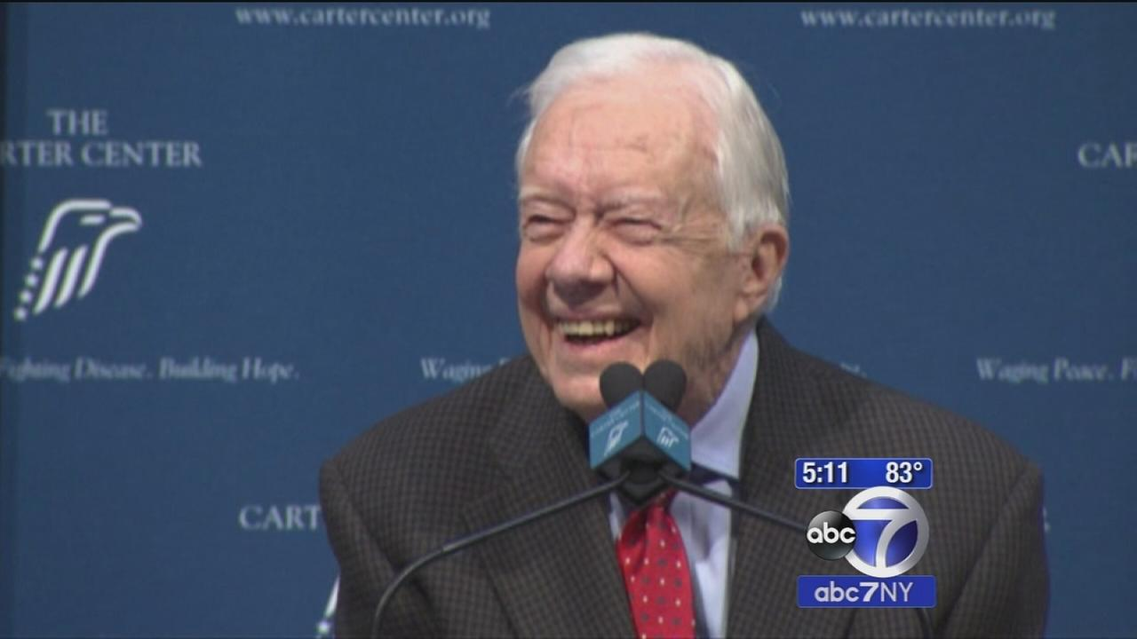 Jimmy Carter will undergo radiation for brain cancer