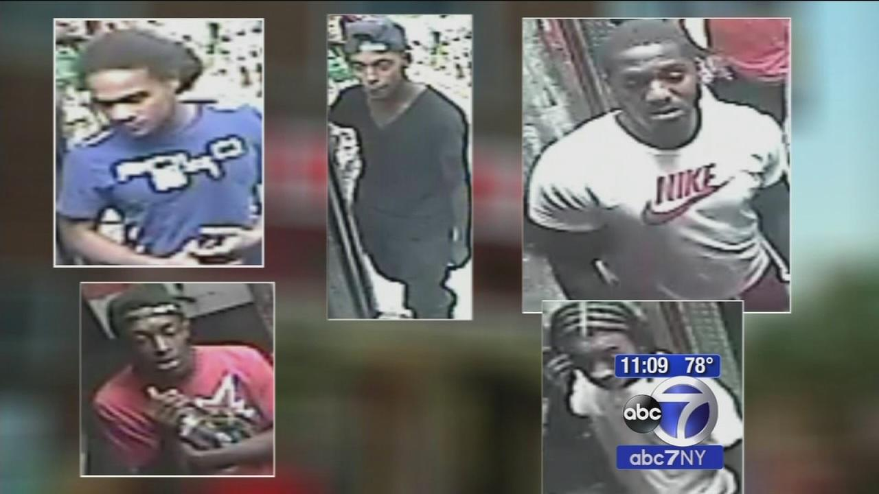 Five men wanted in beating death of customer at Brooklyn bodega
