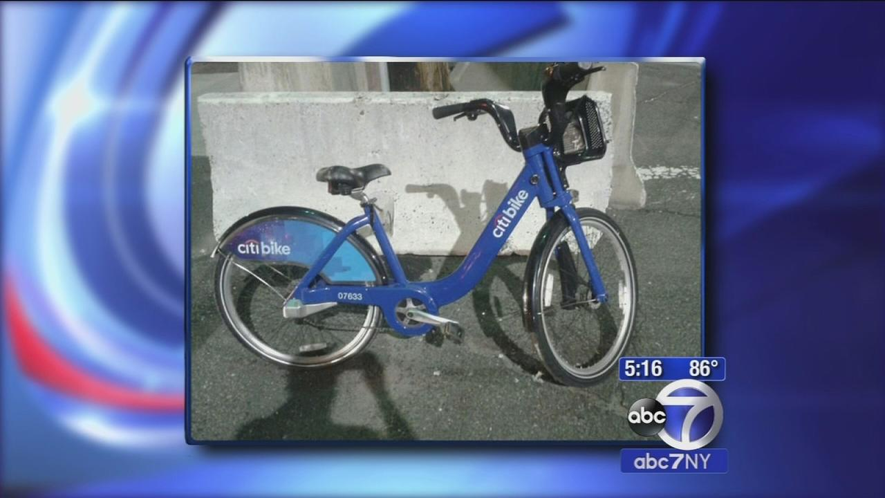 Thefts of CitiBikes on the rise in NYC