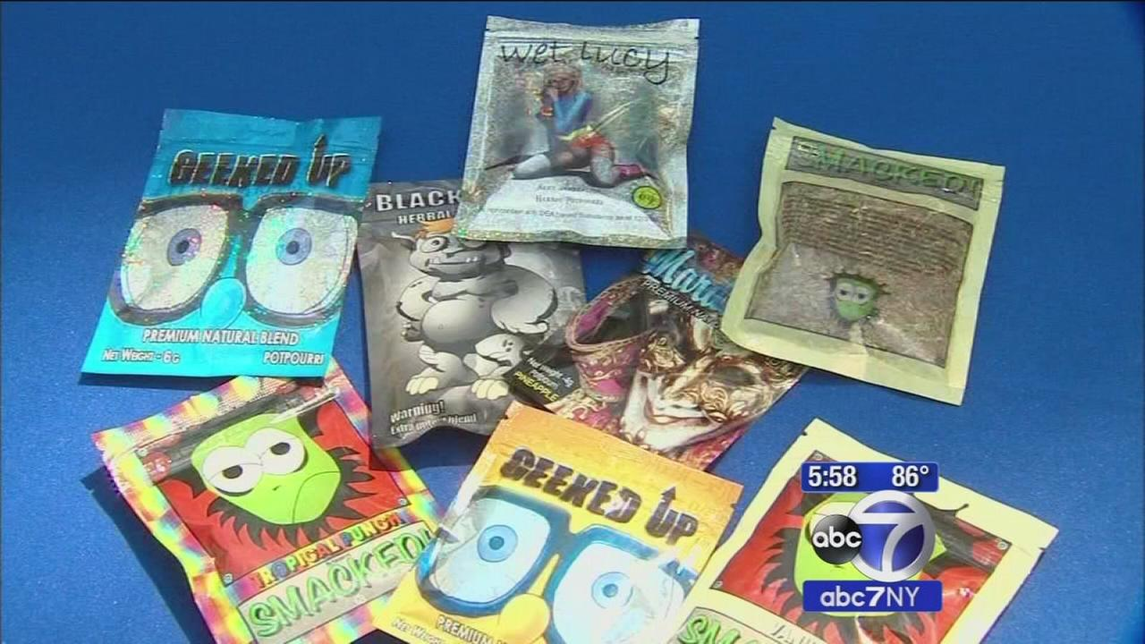 Synthetic marijuana K2 targeted in new NYC crackdown