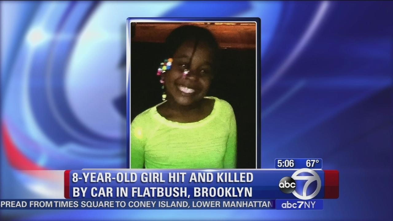 8-year-old girl hit by car in Flatbush