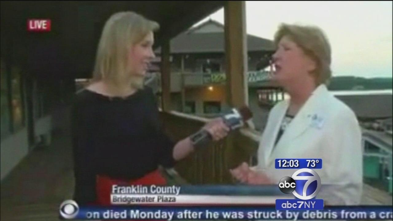 Va. governor visits WDBJ days after crew is shot