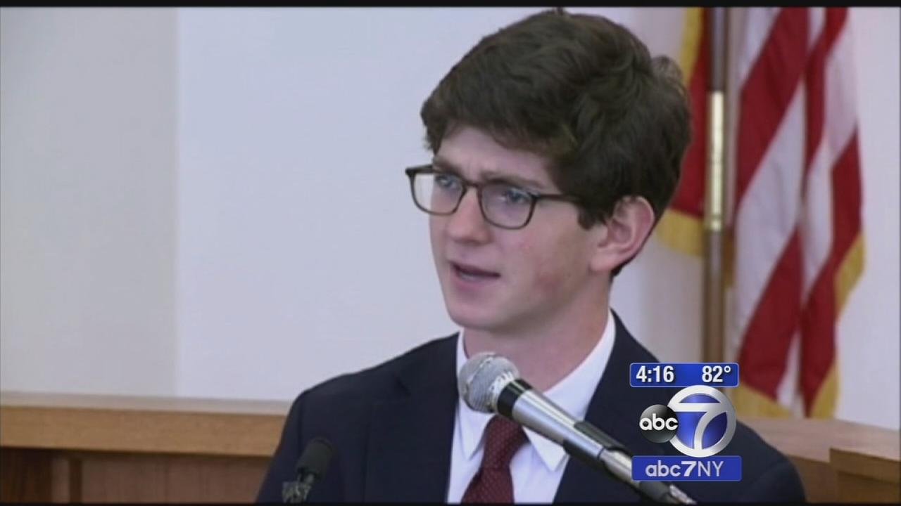 Former New Hampshire prep school student convicted of sex charges