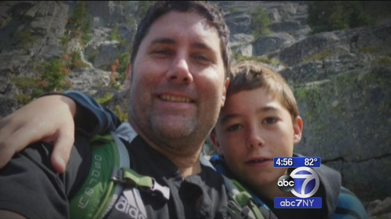 Boy saves dads life while hiking