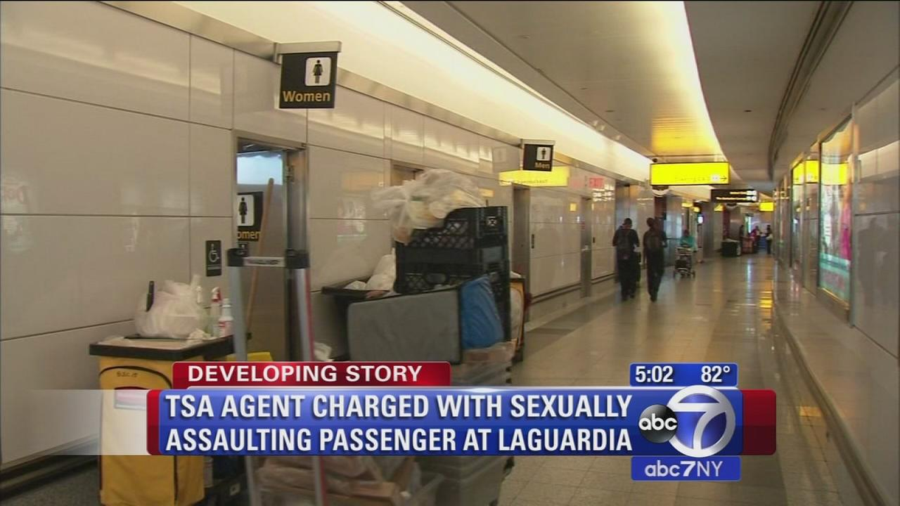 TSA agent charged with sexually assaulting passenger at LaGuardia Airport