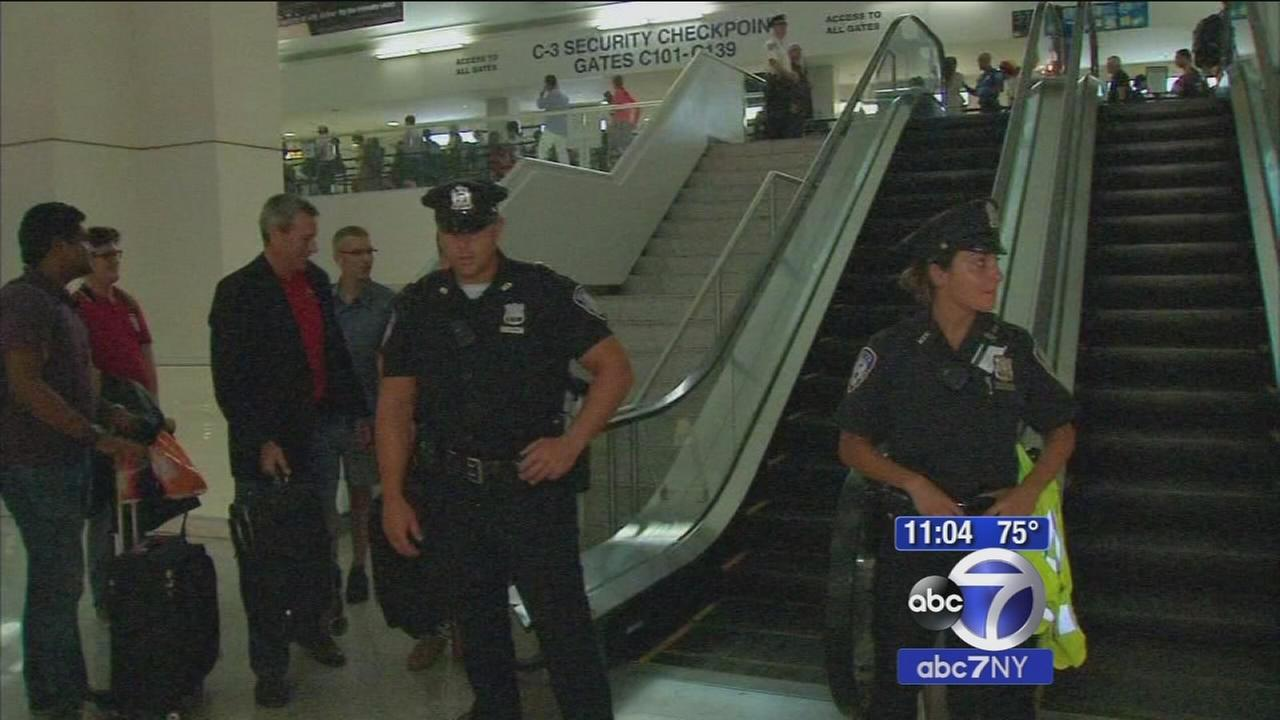 Passengers allowed back into terminal after Newark Airport lockdown