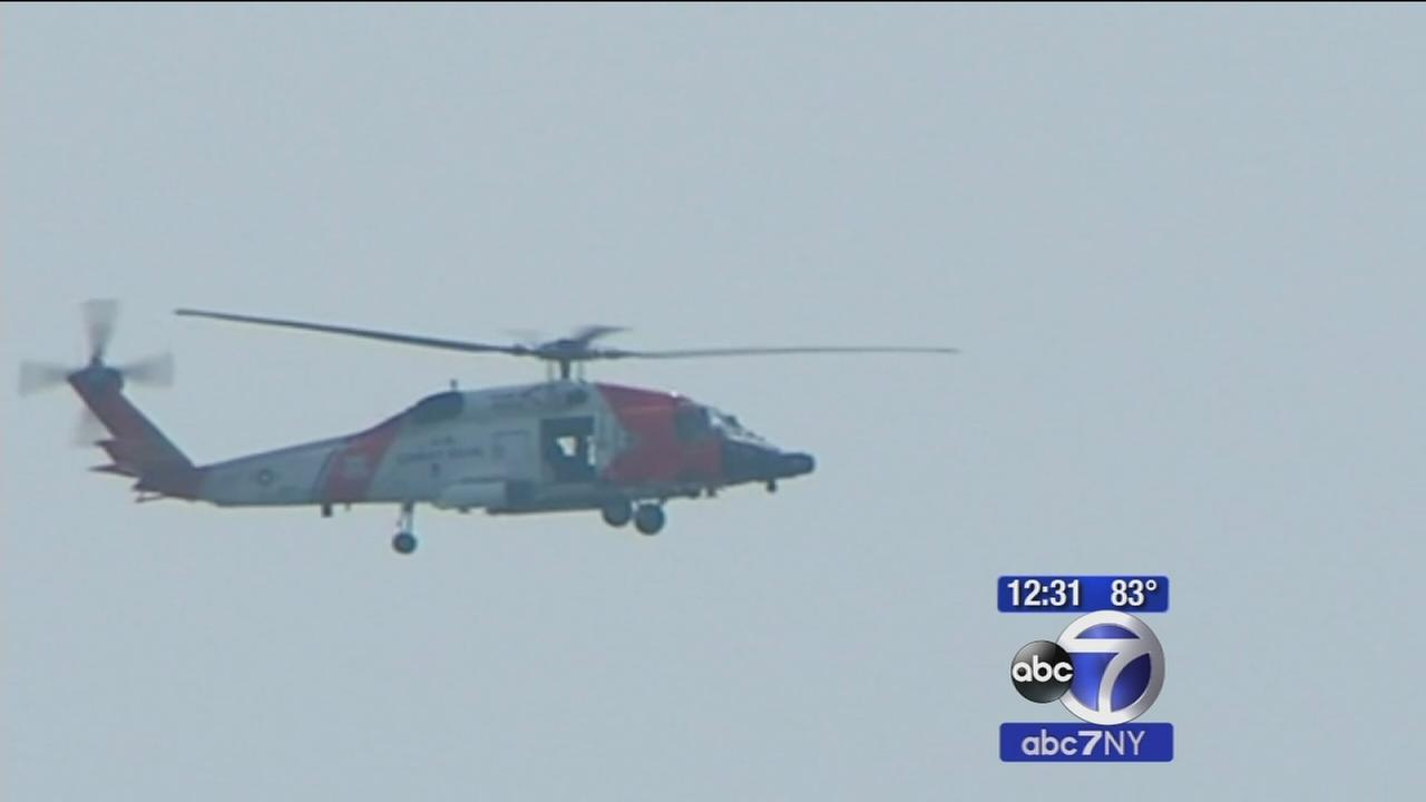 Search is on for paraglider off Robins Island